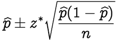 how to find 90 confidence interval formula